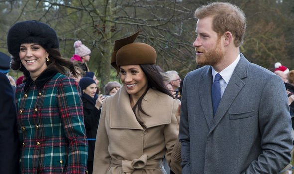 Meghan, Harry and Kate