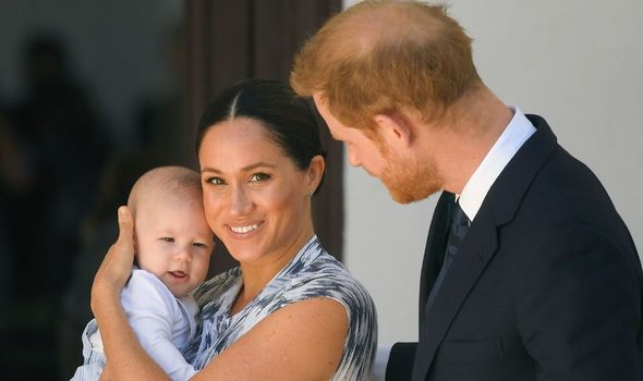 Meghan Markle title: Meghan Markle, Prince Harry and baby Archie Harrison