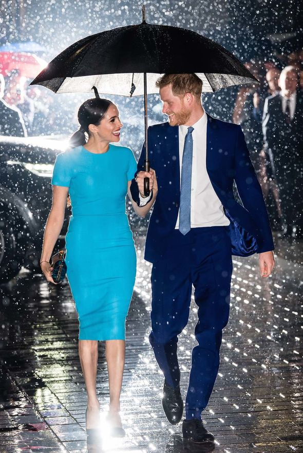 Meghan and Harry BLOW