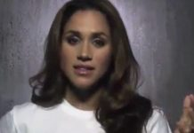 Meghan appeared in a USA network campaign where she detailed her experience with racism.