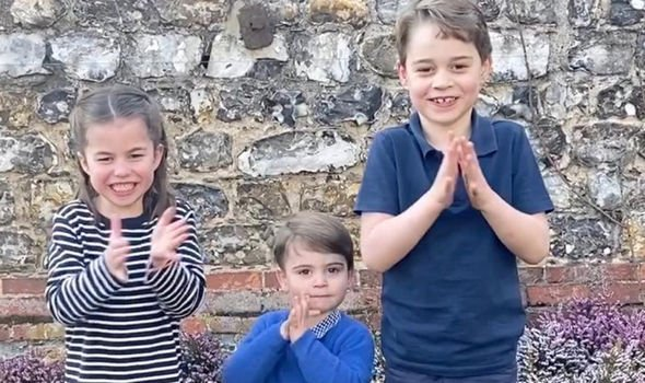 Charlotte, Louis and George