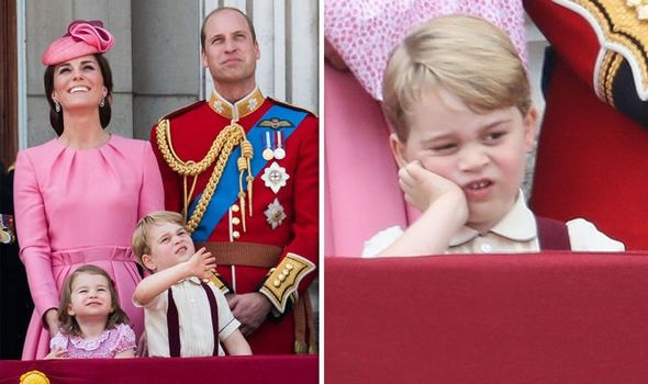 Prince George at Trooping the Colour