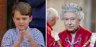 Prince George shock: George and the Queen