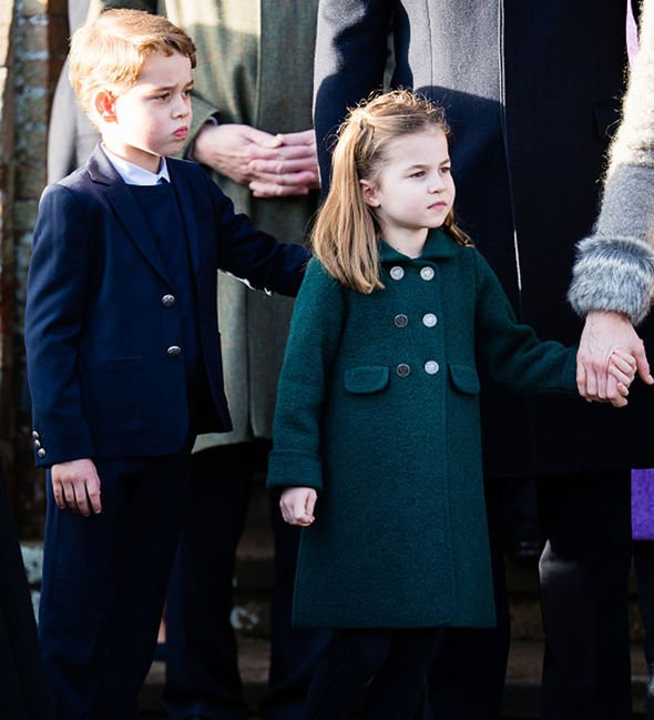 Prince George shock: Royal children