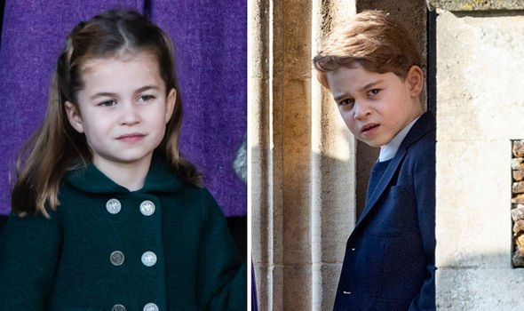 Prince George shock: Cambridge children