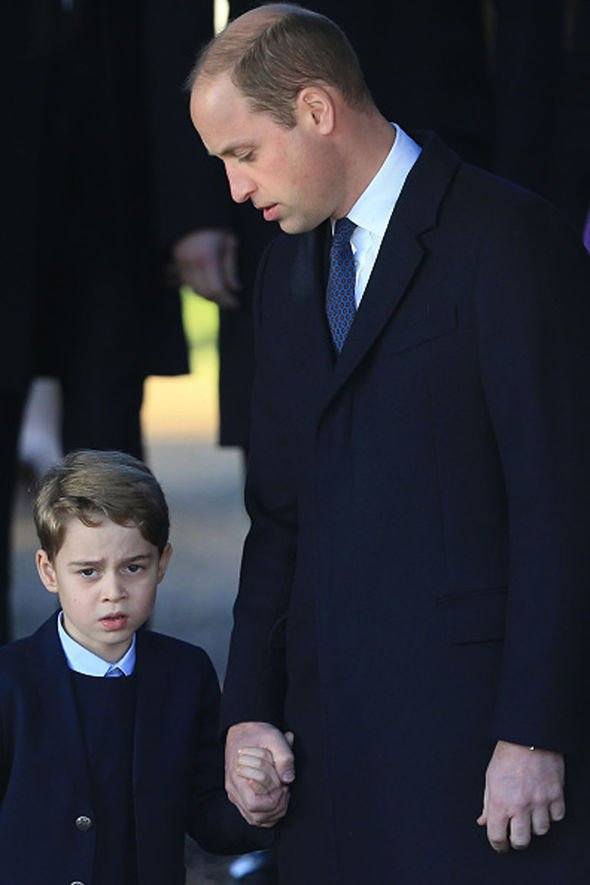 Prince George shock: Royals