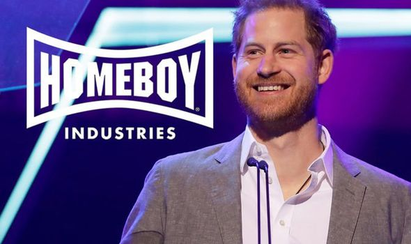 Prince Harry helped Homebody industries by baking bread and packaging all meals.