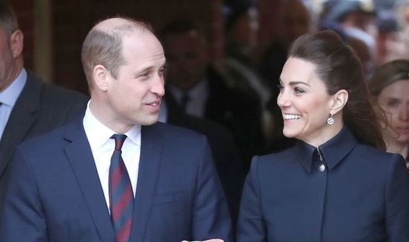 Prince William let slip his volunteering work in a call today
