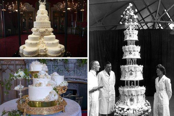 Princess Beatrice wedding shock: Cakes