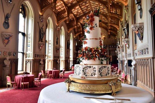 Princess Beatrice wedding shock: Cake
