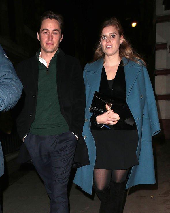 Princess Beatrice wedding shock: The couple