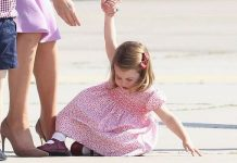 Princess Charlotte: The little royal pictured throwing a tantrum in Germany