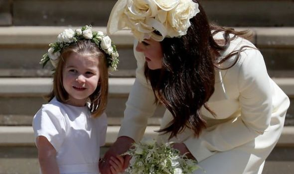 Princess Charlotte latest: Many believed Charlotte would be given the name Diana