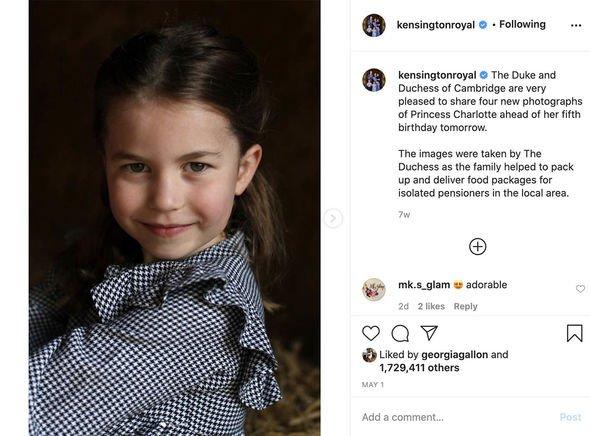 Princess Charlotte title shock: Princess Charlotte§
