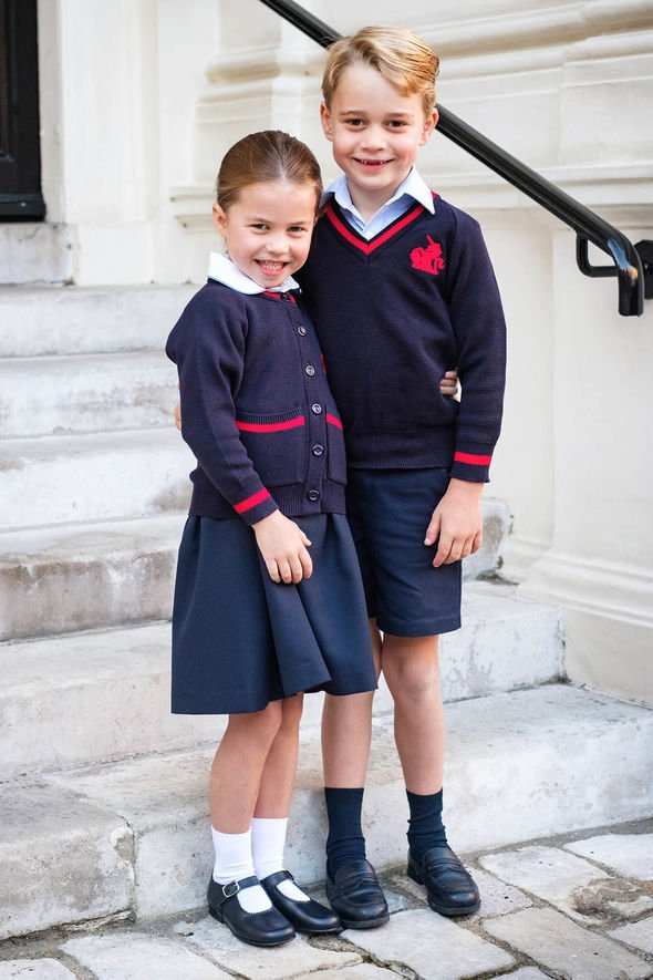 Princess Charlotte title shock: Siblings