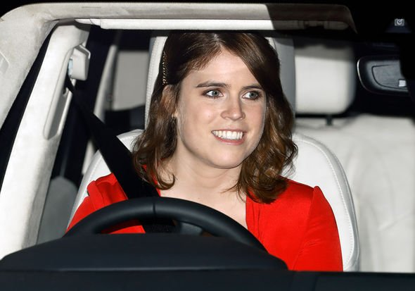 Princess Eugenie and Jack Brooksbank attend a Christmas lunch for members of the Royal Family hosted by Queen Elizabeth II at Buckingham Palace