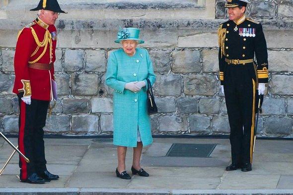 Queen heartbreak: Trooping the Colour