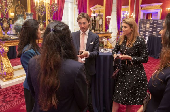 Royal charity work: Beatrice is known do work in the education sector