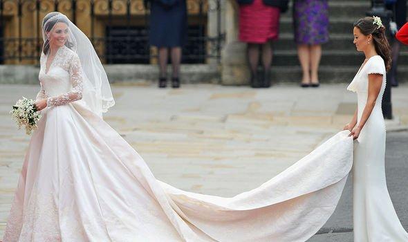 Royal wedding: Kate and Pippa Middleton