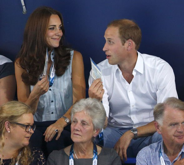 William and Kate joke around back in a 2014 Commonwealth event