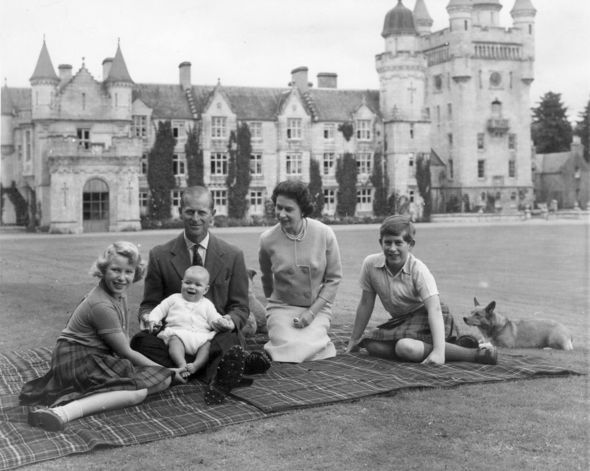 Young Prince Philip title: The Windsors