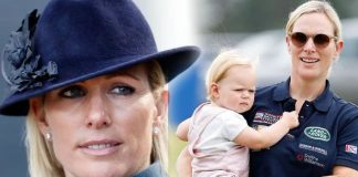 Zara Tindall news: Zara Tindall and daughter Lena