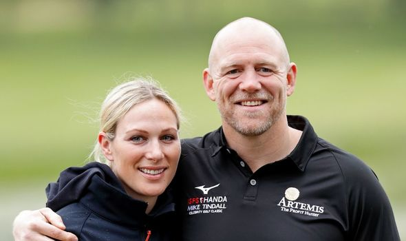 Zara Tindall news: Zara Tindall and Mike Tindall