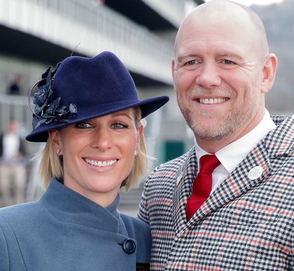 Zara and Mike Tindall