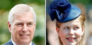 prince andrew lady louise windsor