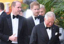 prince charles prince william latest prince harry