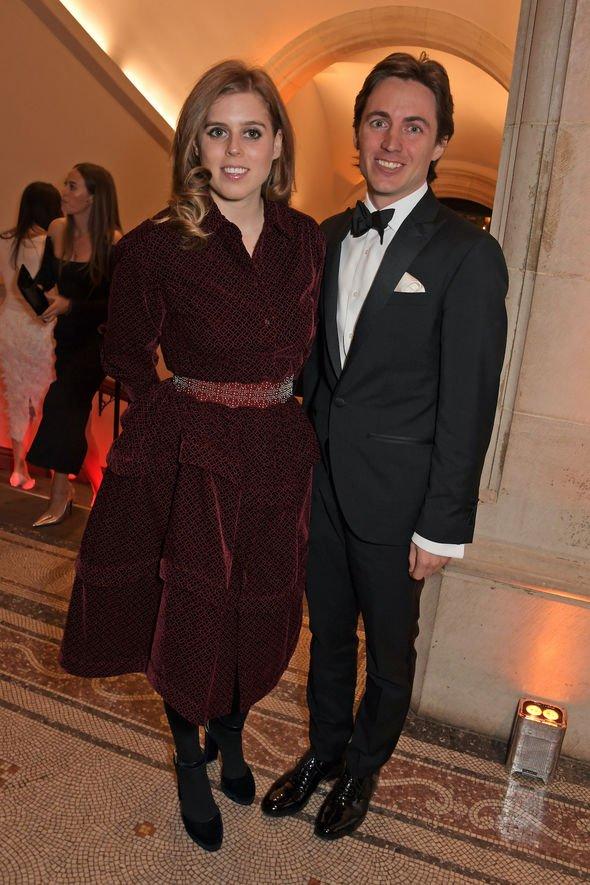 Princess Beatrice snub: Princess Beatrice and Edoardo Mapelli Mozzi