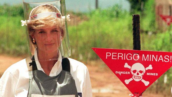 princess diana landmine picture angola
