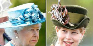 queen elizabeth ii lady louise windsor