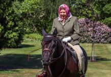 queen health update news queen Elizabeth ii horse riding pictures royal news