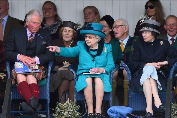 queen news prince charles princess anne photo