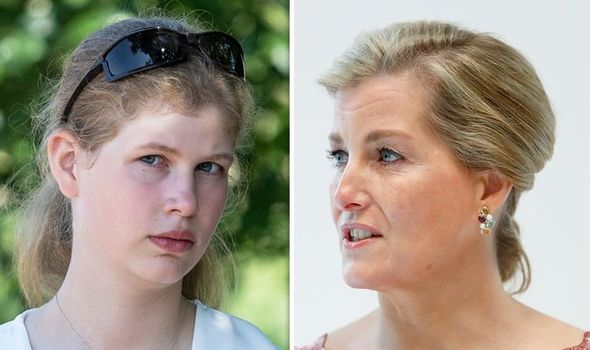 sophie wessex lady louise windsor