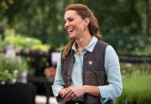 Kate Middleton laughing
