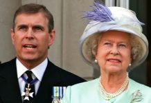 Prince Andrew and Queen Elizabeth II