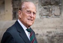 Prince Philip at The Rifles ceremony