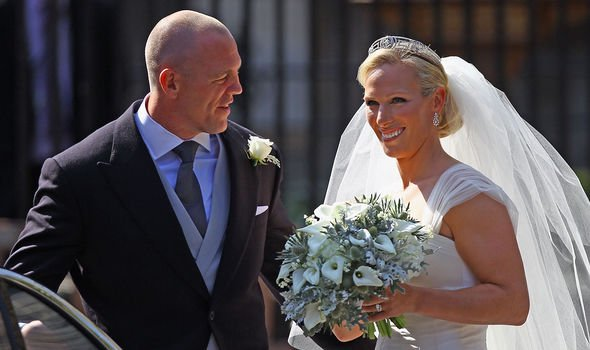Mike married into the Royal Family in 2011 when he wed Zara Phillips