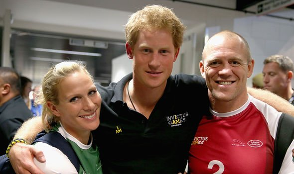 Zara and Mike are both close with Prince Harry