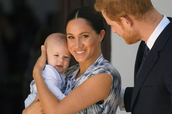 Harry and Meghan stepped down as senior royals earlier this year