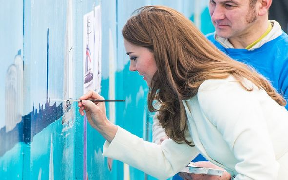 Kate Middleton painting