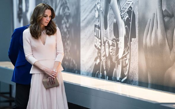 Kate Middleton at the National Portrait Gallery