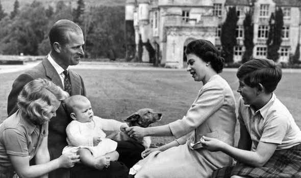 Andrew was the first child to be born to a reigning monarch in more than a century