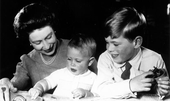 The Queen allegedly dedicated more time to raising her two youngest children