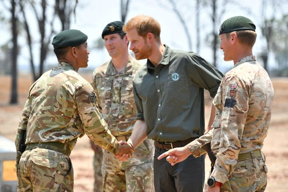 The Duke paid tribute at the memorial site for Guardsman Mathew Talbot during the royal tour of Africa
