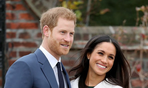 Harry is alleged to have used a similar phrase for his wife Meghan before their 2018 wedding