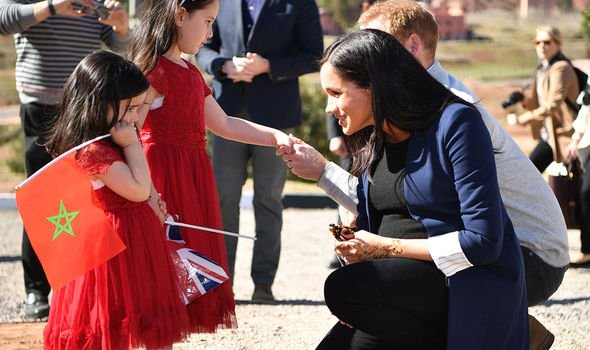 Meghan was admired by the Queen for her work ethic during the tour