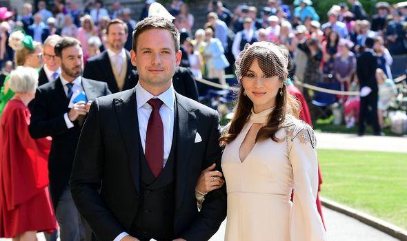 Troian Bellisario and her husband